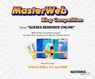 Master Web Blog Competition