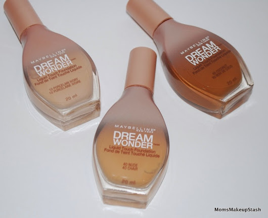 Maybelline Dream Wonder Liquid Touch Foundation (Photos, Review & Swatches)  - Moms Makeup Stash - A Beauty/Lifestyle Blog