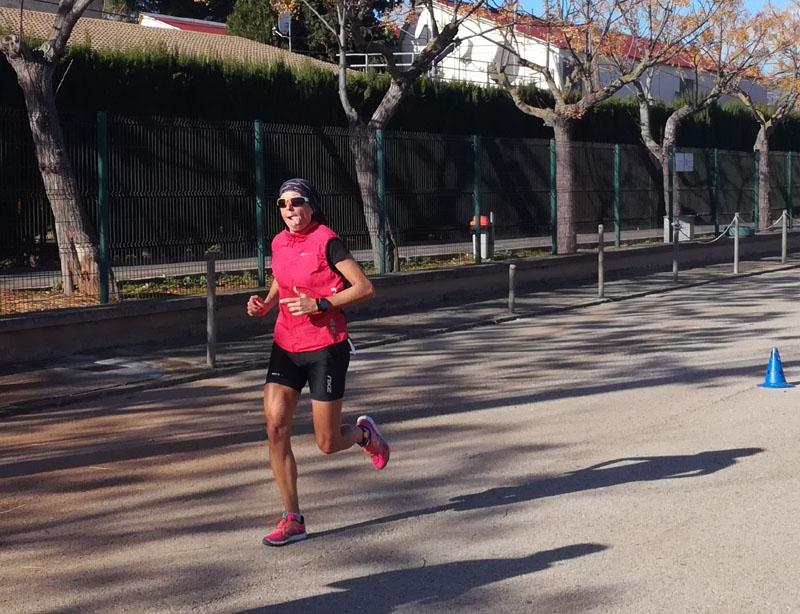 Foto: Duathlon Sa Pobla, frazione di corsa e riesco anche a fare la linguaccia :-)