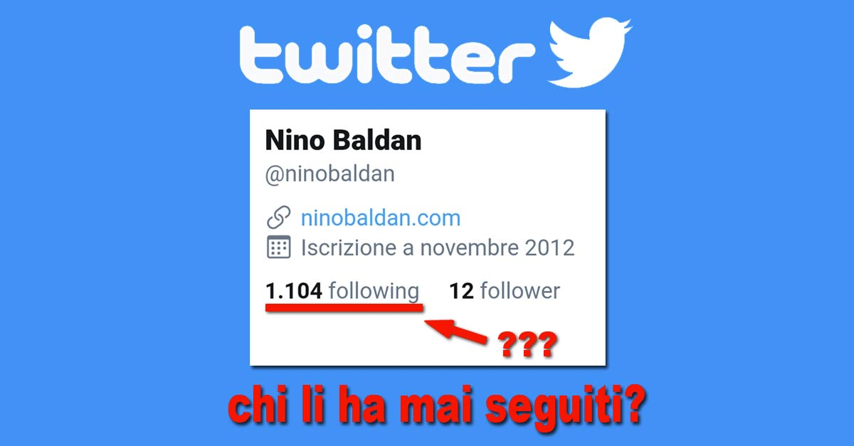 Reportage sui falsi follower di Twitter