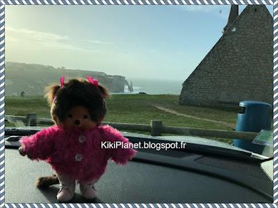 diana la monchhichi, le kiki de tous les kiki, kiki, kiki le vrai, Etretat, Normandie