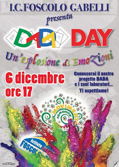 Il DADA Day dell'istituto Foscolo - Gabelli di Foggia, venerdì 6 dicembre 2019