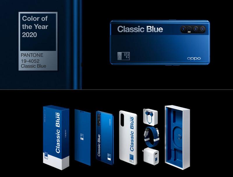 Classic Blue Pantone Reno3 Pro 5G