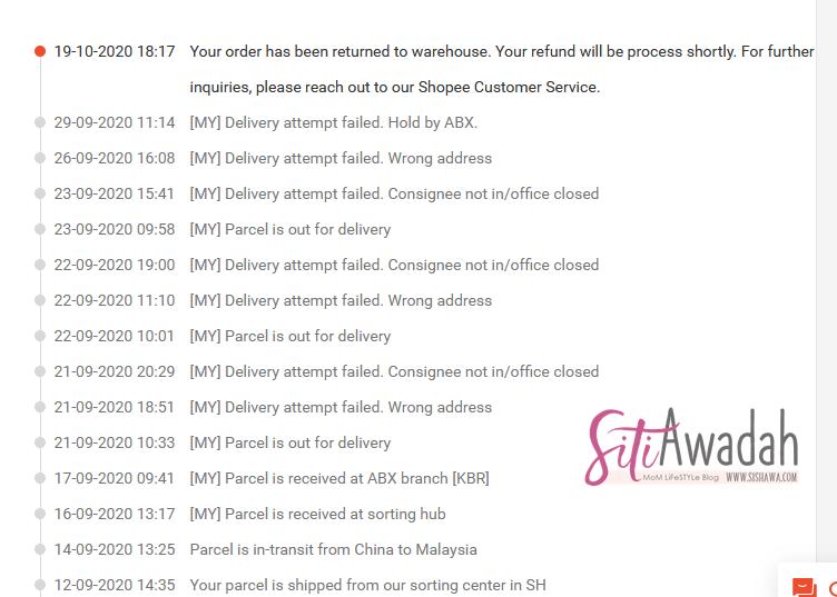 Cara Cancel Order Minta Refund Shopee