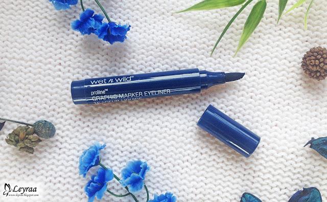 Wet n Wild ProLine Eyeliner w pisaku Graphic Marker Eyeliner E878 Airliner blue