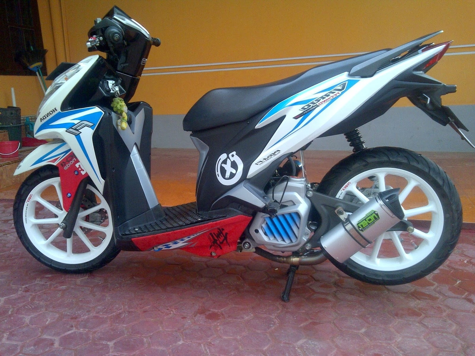 Modifikasi Motor Honda Vario 125 Kumpulan Modifikasi Motor Scoopy