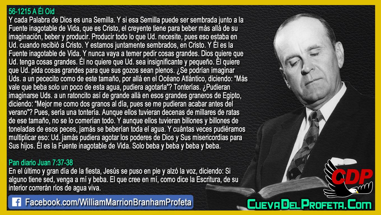 La Fuente inagotable de Vida - William Branham en Español