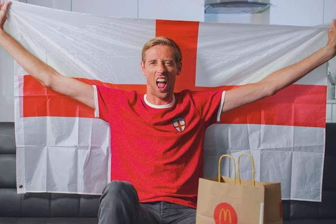 Former England striker, Peter Crouch keen to represent the Super Eagles