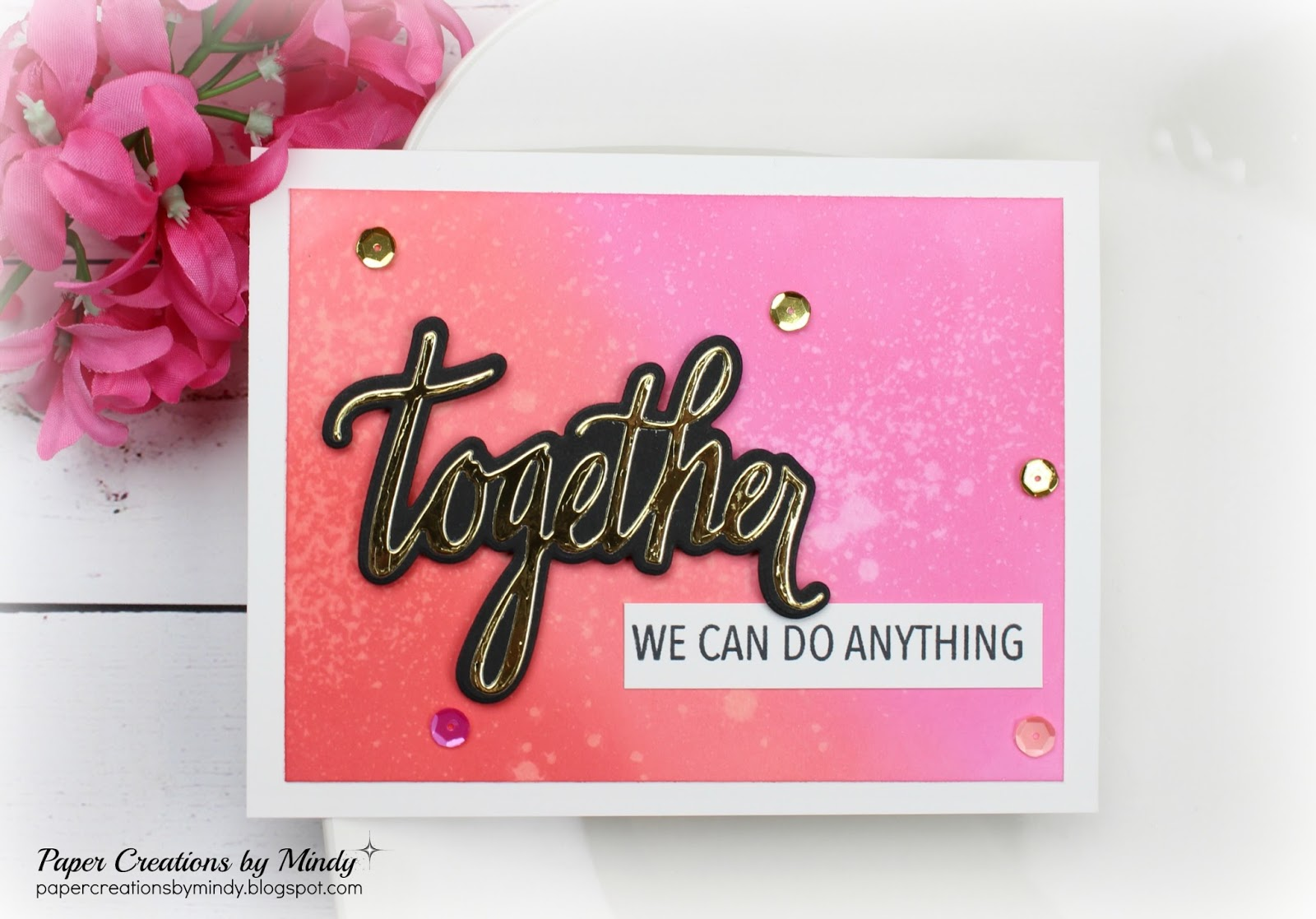 Together neat tangled mindy eggen design for Tangle creations ebay