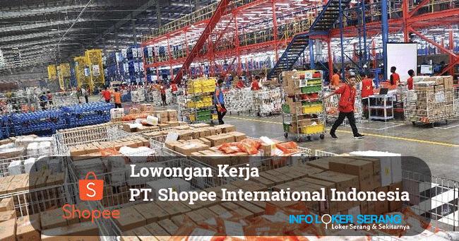 Lowongan Kerja Warehouse Agent Staff Gudang Pt Shopee International Indonesia Shopee Tangerang Info Loker Serang