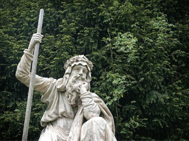 Estatua de druida