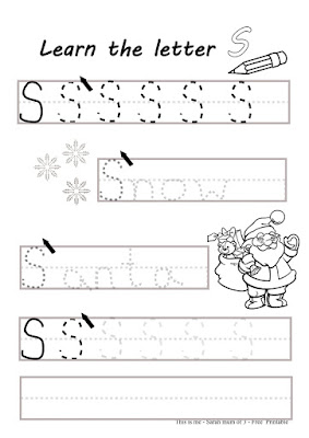 free children print letter writing s activity