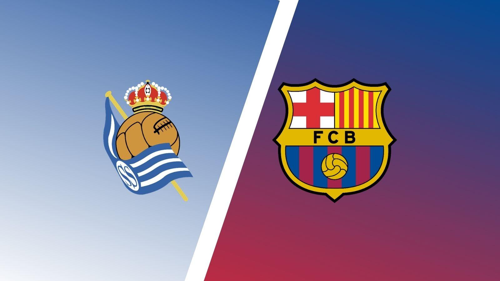 كل ما تريد معرفته عن مباراة برشلونة وريال سوسيداد اليوم في الدوري الإسباني