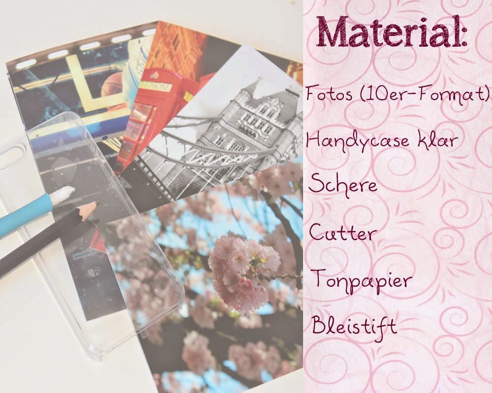 Material für individuelle Handyhüllen