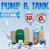 Homepro Promotion : Pump & Tank Festival ปั๊มน้ำ แท้งค์น้ำ ลดราคาพิเศษสุดคุ้ม (วันนี้ - 28 มิ.ย. 60)