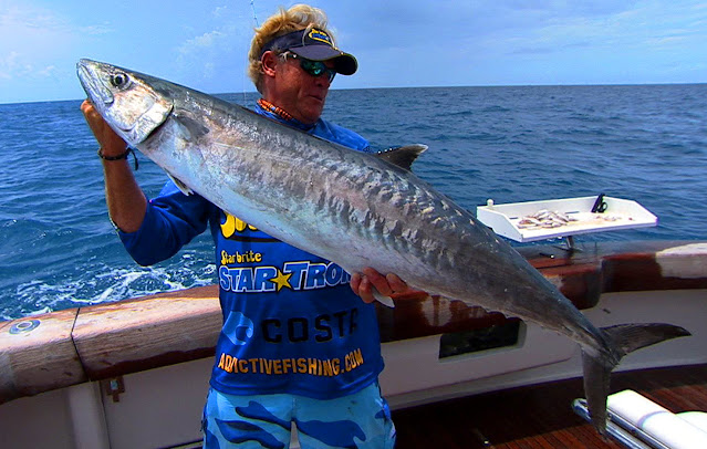 Capt Blair Wiggins with Key West Kingfish