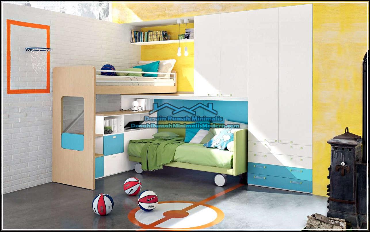 Kamar Tidur Anak Laki Laki Interior Minimalis