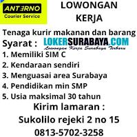 Lowongan Kerja di Anterno Courier Service Surabaya September 2020