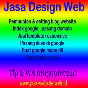 jasa setting website
