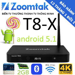 tv box zoomtak t8x
