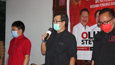 AA-RS Optimis Menang, Steven: PDI Perjuangan Partai Nasionalis tak Terjebak Politik Suku dan Agama