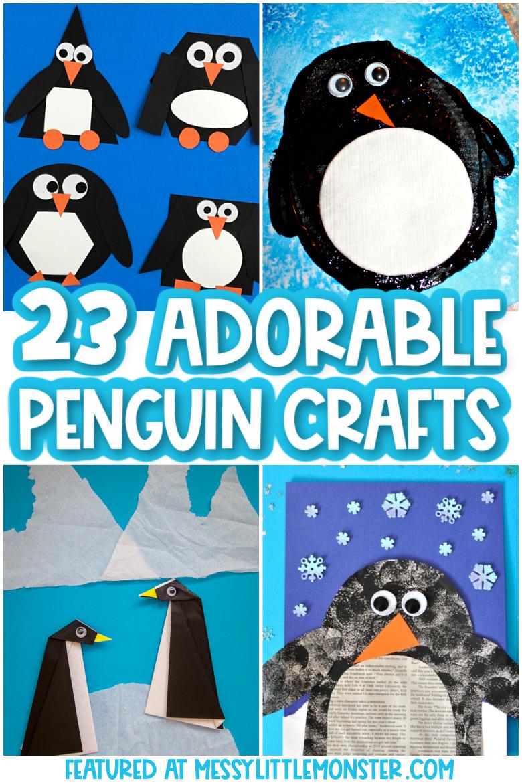 Penguin crafts for kids