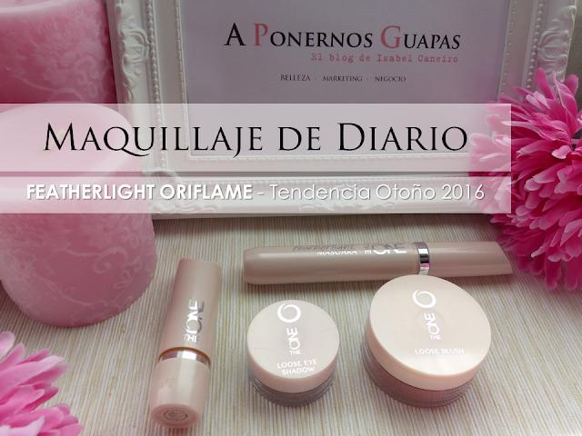 Maquillaje Featherlight Tendencia Oriflame A Ponernos Guapas