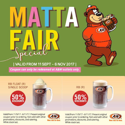 Free A&W Voucher Malaysia Giveaway Promo