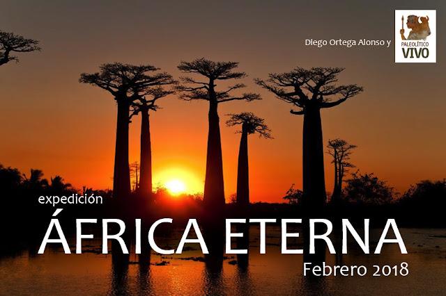 Expedición AFRICA ETERNA. Safari artístico Kenia y Tanzania Febrero 2018. Diego Ortega Alonso y Paleolítico Vivo
