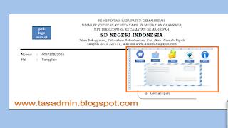 Aplikasi Amplop Surat Excel