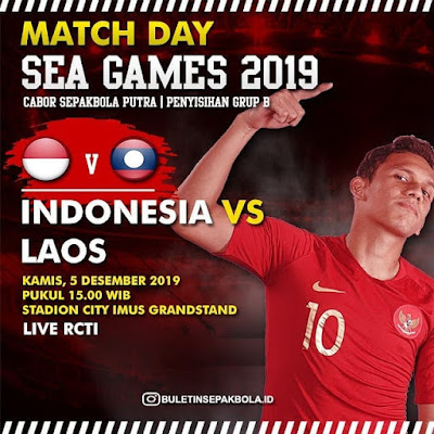 Live Streaming Indonesia vs Laos (SEA GAMES) 5.12.2019
