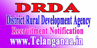 DRDA (District Rural Development Agency) Recruitment Notification 2016
