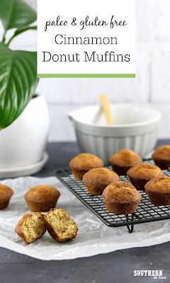 Paleo Cinnamon Donut Muffins Recipe