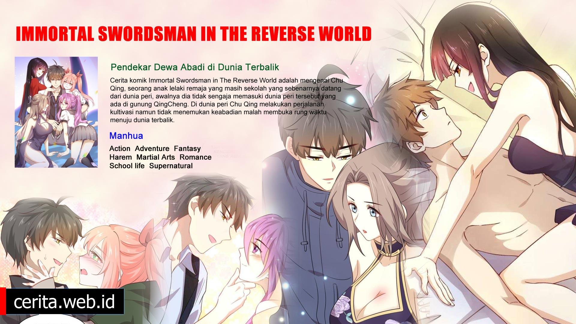Sinopsis Manhua Immortal Swordsman In The Reverse World
