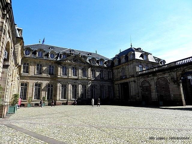 Palacio Rohan, Estrasburgo, Grande Íle, Alsacia, Francia