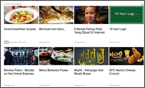 Tutorial Pasang Iklan Adsense Matched Content Pada Blog