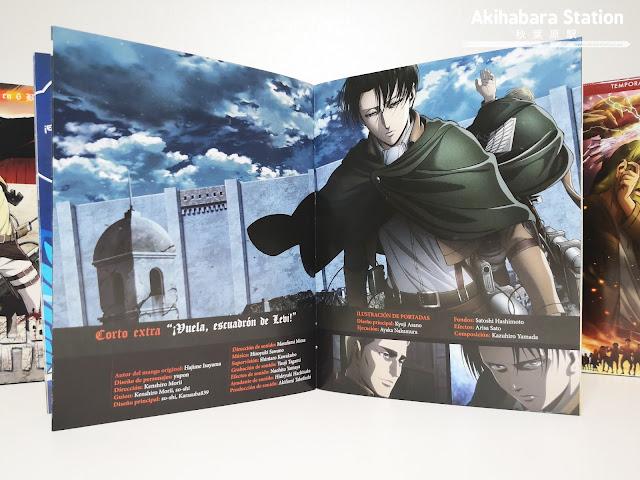 Review de Ataque a los Titanes (Shingeki no Kyojin 進撃の巨人) Temporada 3 parte 2 en BD - Selecta Visión