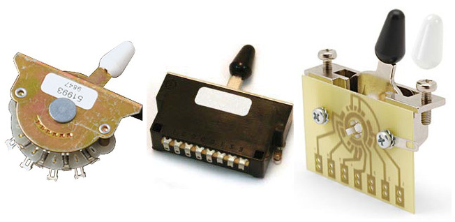 Guitar Kit Builder: Understanding the 5-way Switch on