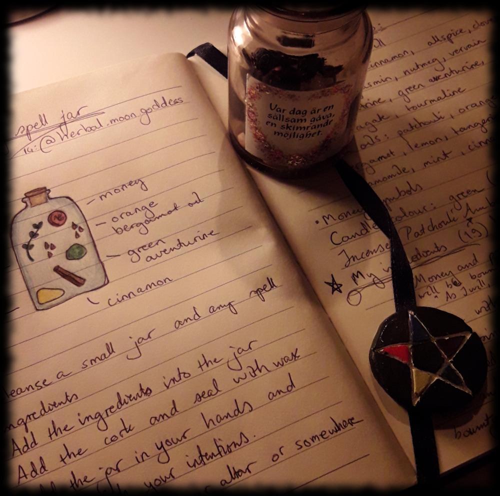 Witchweave Money Jar Spell