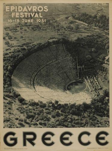 Athens & Epidaurus Festival 1950s