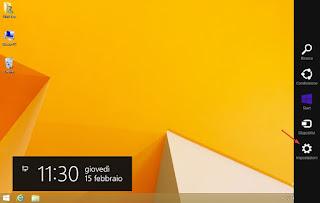 Windows 8.1 impostazioni pannello