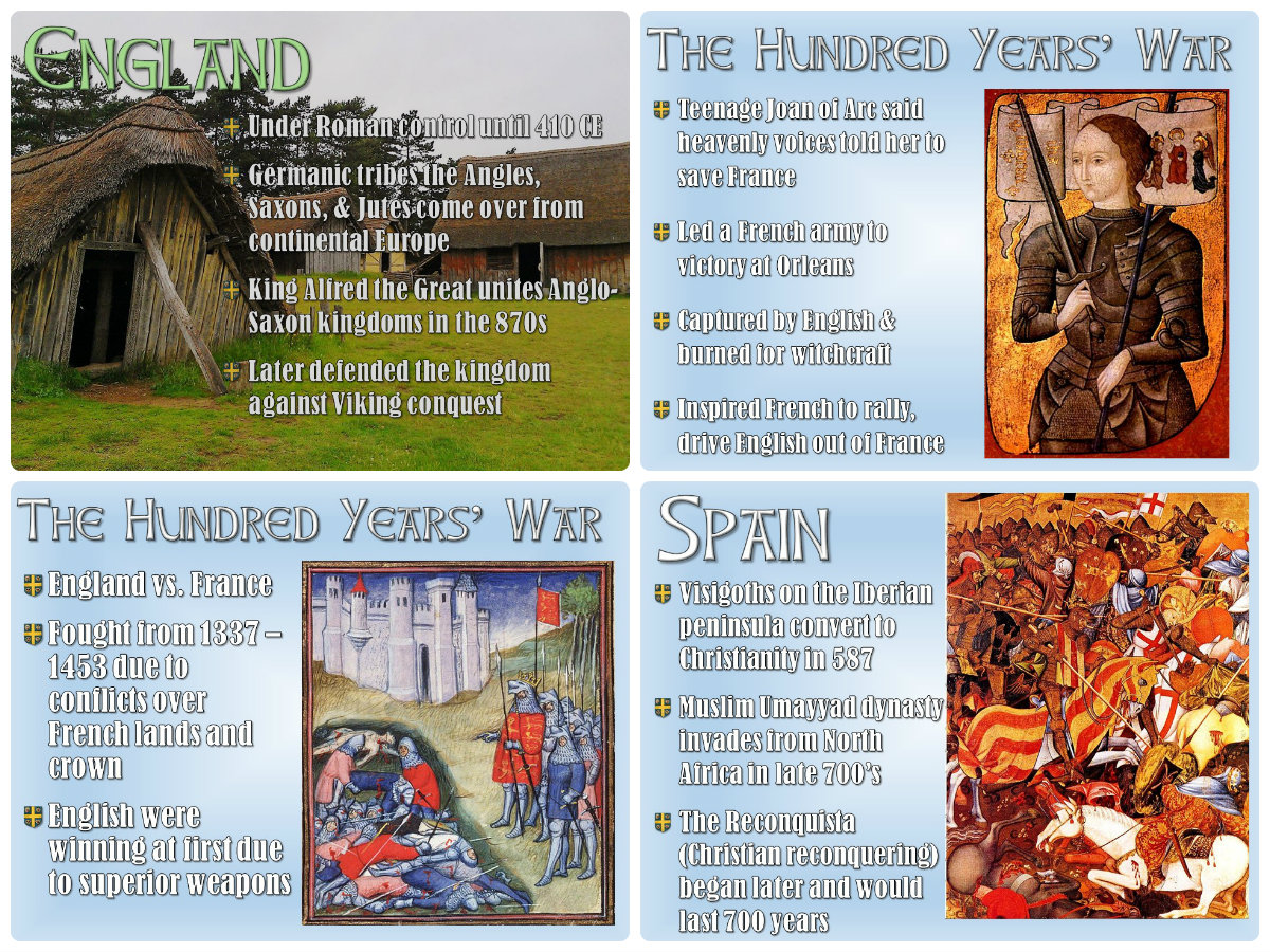 Students Of History Early Middle Ages In Europe Powerpoint