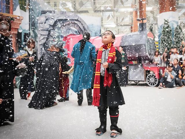 Harry Potter: Thế giới phù thủy đang diễn ra tại Changi