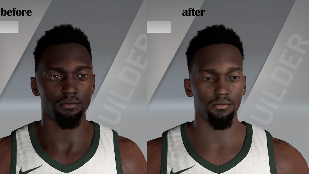 Bobby Portis Cyberface and Body Model By Sirius lzy [FOR 2K21]