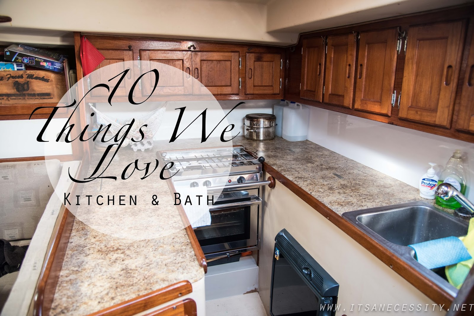 10 things we use daily on our boat kitchen bath edition it s a