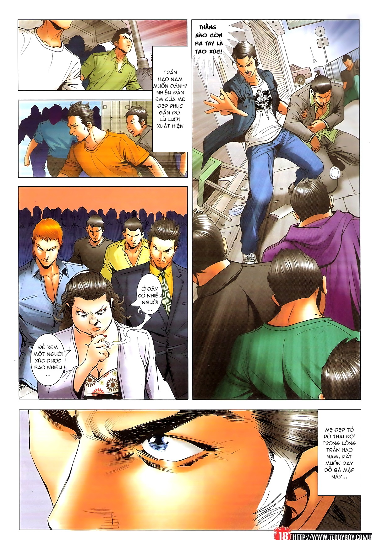 Người Trong Giang Hồ chapter 1648: tự tìm đường chết trang 16