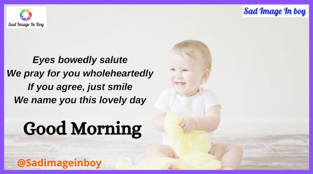Beautiful Good Morning Baby | good morning with cute baby, cute babies photos