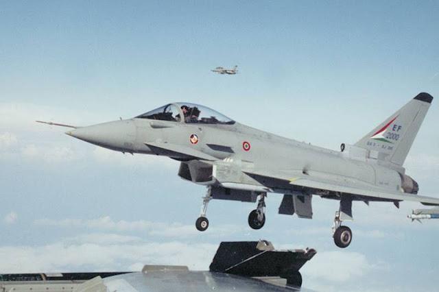 Eurofighter Typhoon maiden flight