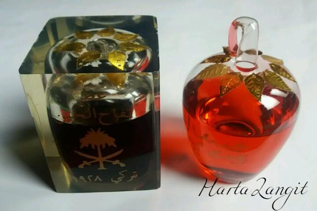gambar minyak apel jin asli