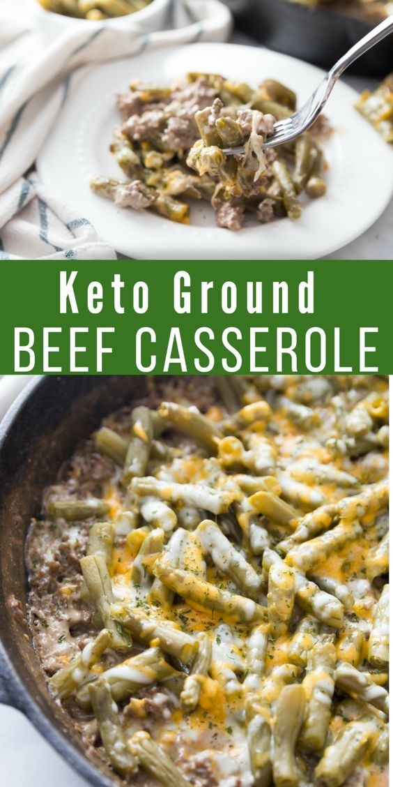 Easy Keto Ground Beef Casserole